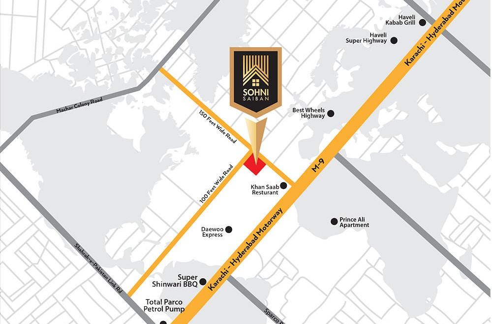 sohni saiban location map